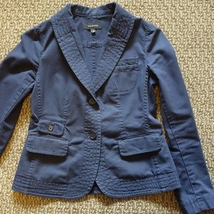Talbots Fitted Cotton Jacket w/ Pockets—Size 4
